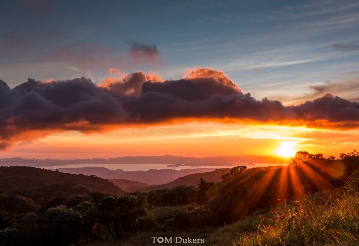 Monteverde sunset by tomdukers
