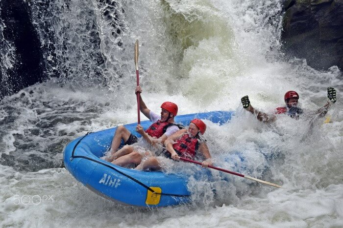 White water rafting - Photo by Shawn McInnes