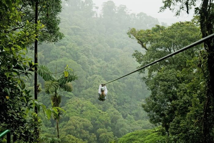Zipline in Costa Rica - Photo Credit Niki Harry